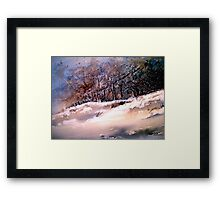 Winter Squall Framed Print