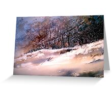 Winter Squall Greeting Card