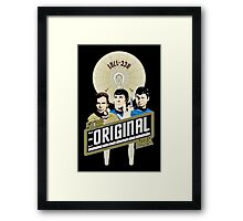 Star Trek TOS Trio Framed Print