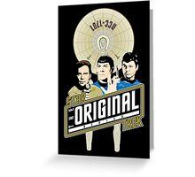 Star Trek TOS Trio Greeting Card