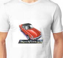 Triumph Spitfire mk4 Red Unisex T-Shirt