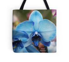 Happy Birthday Greeting Card 7053 Tote Bag