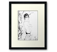 Brisbane Boys - Andy Framed Print