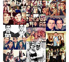 British YouTubers Photographic Print