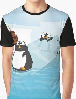 Birthday Penguin Graphic T-Shirt