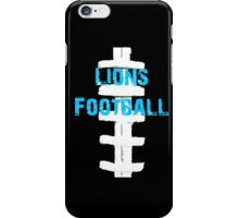 Detroit Lions Football iPhone Case/Skin