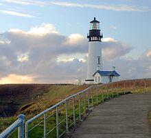 Yaquina Head Lighthouse by Jennifer Hulbert-Hortman