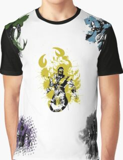 Many faces of Ninjas. Graphic T-Shirt
