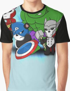 The PandAvengers Graphic T-Shirt