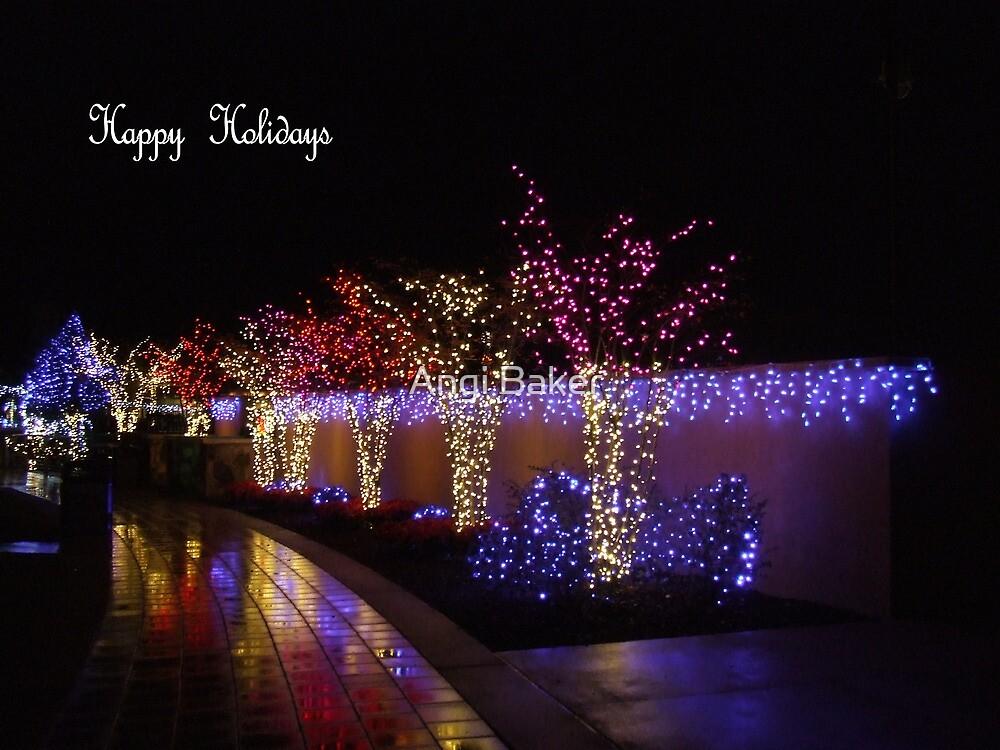 Happy Holidays by Angi Baker