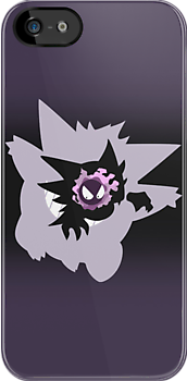 Gastly - Haunter - Gengar by lomm