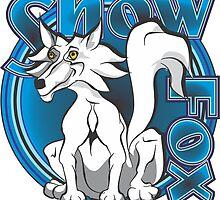 Snow Fox by MontanaJack