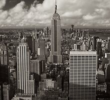 Empire State Vintage by Brian Leadingham