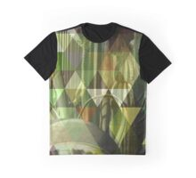 Cactus Garden Art Triangles 1 Graphic T-Shirt