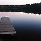 Taulajärvi Lake by Niko Mönkkönen