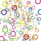 Colorful Circles by TinaGraphics