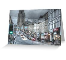 Bristol University and Park Street, Bristol. Greeting Card