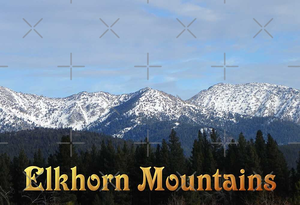 Elkhorn Mountains - OREGON by Betty  Town Duncan
