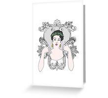 The Beauty Beast Greeting Card