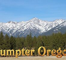 Sumpter, Oregon by Betty  Town Duncan