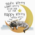 Soft kitty, warm kitty... by mysteryof