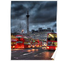 London red buses Poster