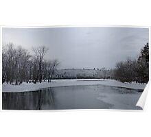 Winter At Eels Creek Poster
