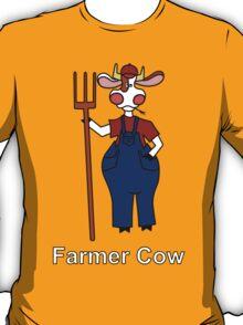 Farmer Cow T-Shirt