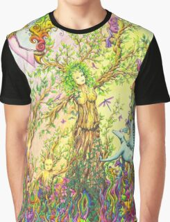 Tree woman, we all come from the Earth Graphic T-Shirt