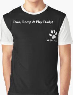 Alpha Dog #7 - Run, romp & play Graphic T-Shirt