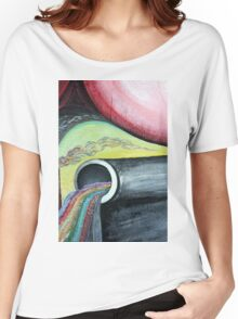 Abstract - pipe  Women's Relaxed Fit T-Shirt
