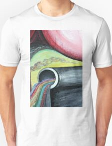 Abstract - pipe  Unisex T-Shirt