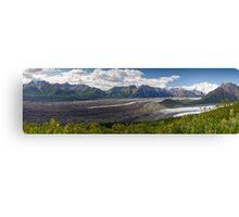 Alaskan Glaciers Canvas Print