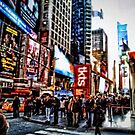 Times Square, NYC by Robin Black