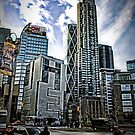 New York City, Columbus Circle by Robin Lee