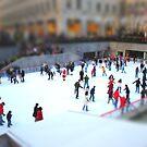 Ice Skating at Rockefeller by Robin Black