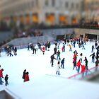 Ice Skating at Rockefeller by Robin Lee