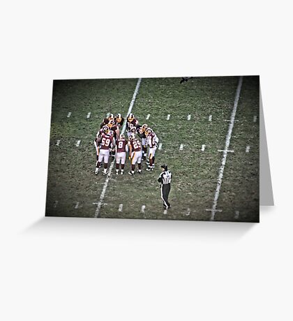 Huddle Greeting Card