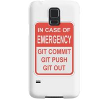 Git Out Samsung Galaxy Case/Skin