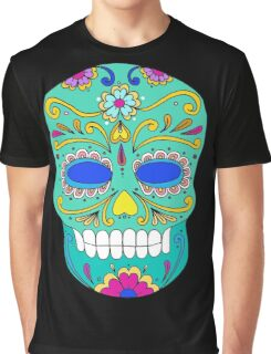 Sugar skull mexican folk art Graphic T-Shirt