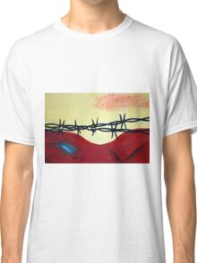 Abstract - barbed wire  Classic T-Shirt