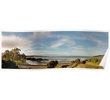 Adventure Bay Panorama, Tasmania, Australia Poster