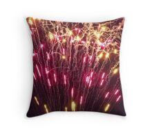 """""""Fireworks"""" Throw Pillow"""