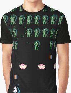 Zombie Unicorn Invaders Graphic T-Shirt