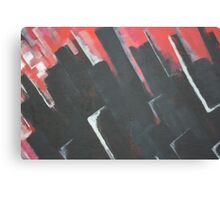 Abstract - blocks  Canvas Print
