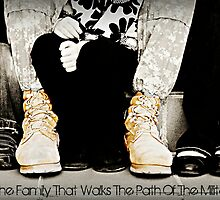 "Honor The Family Who Walks The ""Military Life"" by lisamgerken"
