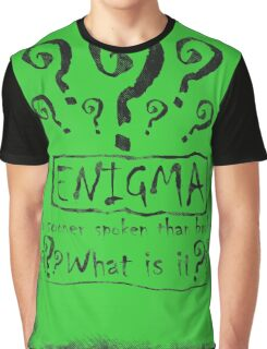 the quest of the riddler Graphic T-Shirt