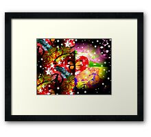 Peace Resolution Framed Print