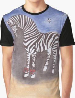 Christmas zebra vector Graphic T-Shirt