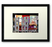 urban distractions Framed Print